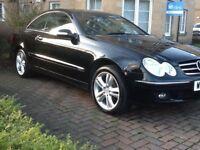 2009 Mercedes Clk220 Diesel Komp,Low 68 Mileage,FSH,MOT 1 Year