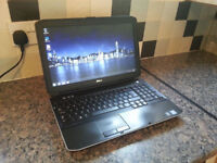 "DELL E5520 15.6"" LAPTOP, FAST CORE i7 3.50GHz, 8GB, 500GB, WIFI, BLUETOOTH, DVDRW, WEBCAM, HDMI, W7"