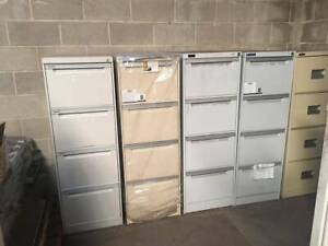 Various 4 Drawer Filing Cabinets Netley West Torrens Area Preview