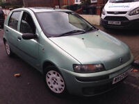 FIAT PUNTO 1.2 AUTO AUTOMATIC 2002 5 DOOR 42K MILES NEW MOT CD PLAYER SUNROOF