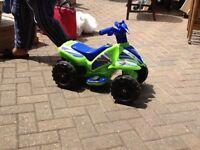 Kids toy quad bike