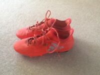 Adidas Football boots size 9 with built in sock