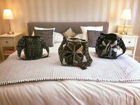 Handmade bags, unique designs