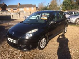 2009 [59] RENAULT SCENIC 1.5 DCI DIESEL 6 SPEED LONG MOT 5 SEATER MPV