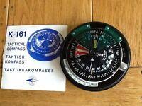 Suunto racing dinghy compass.