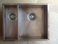 Franke 1 1/2 (Left) undermount sink and composite worktop great condition