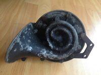 vintage lucas car horn,1930,snail shaped.