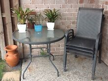 5 piece outdoor setting Pacific Pines Gold Coast City Preview
