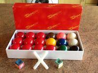 Snooker balls - supapro