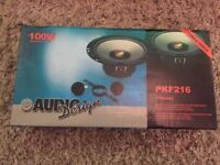 Audio Design PKF216 Car Speaker and Tweeter System 165mm