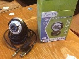 Pluscom Web Cam USB