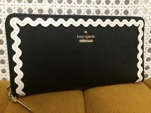 New Kate Spade Lacey Zip Around Wallet Authentic.