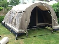 Outwell Niagara Falls 5 person tent for sale. Living room carpet included.