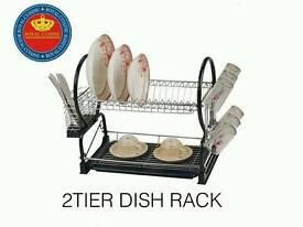 New - 2 Tier Dish Racks