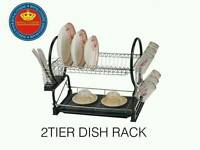 New - 2 Tier Dish Racks