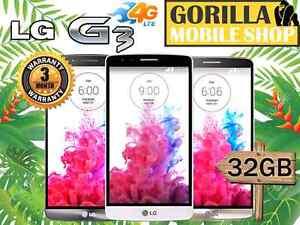 AS NEW LG G3 32GB 4G LTE 3GB RAM Unlocked Strathfield Strathfield Area Preview