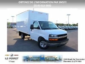 2014 Chevrolet Express Cutaway CUBE, 12PIEDS, RAMPE, V-8, A/C