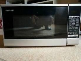 Sharp microwave silver r-270