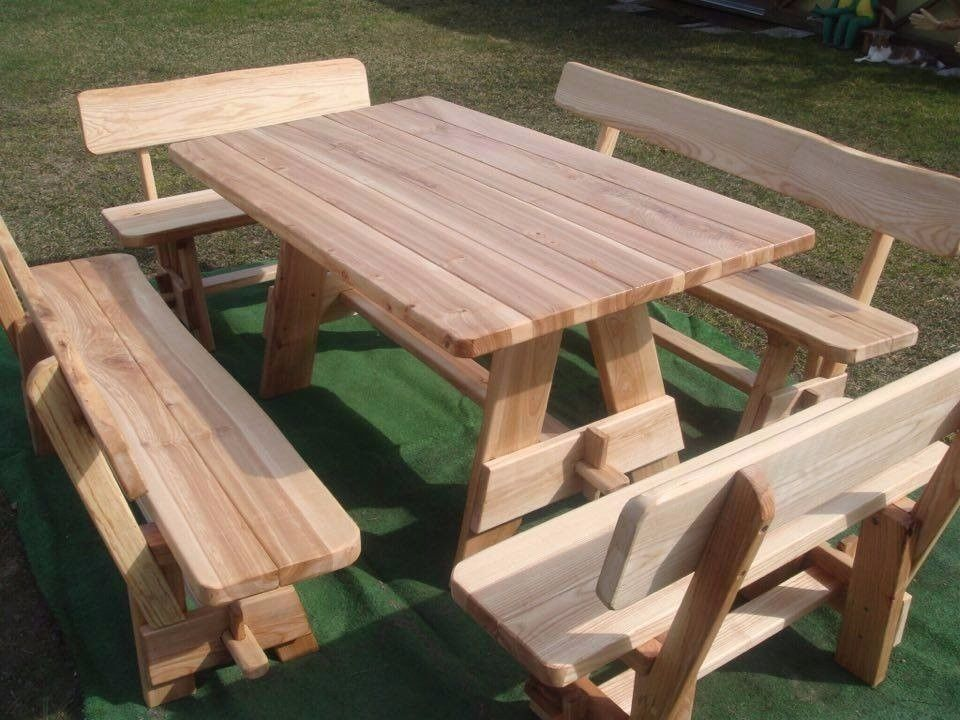 Hardwood Garden Furniture Ash Wood Patio As Good Oak