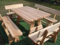 Hardwood Garden Furniture, Ash wood, Patio furniture, as good as oak