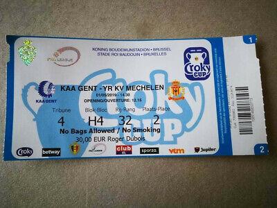 Perfect Ticket Finale Coupe de Belgique : KA Gent - KV Mechelen 01-05-2019