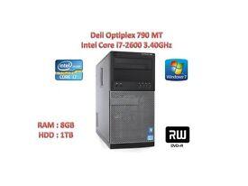 "Dell Optiplex 790 MT Intel Core i7-2600 3.40GHz, 8GB,1TB DVD/RW 22"" DELL LCD AVAIALBE"