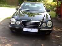 Merc 200K 2002 Aventgarde