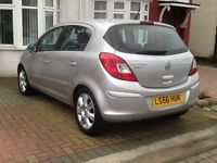 VAUXHALL CORSA AUTOMATIC+ 5 DOOR + HPI CLEAR + PRIVIOUS LADY OWNER + LOG MOT + 2 KEY