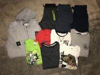 Age 7-8 Boys Clothing Bundle. Tops, T-Shirt, Pyjamas, Jogging Bottoms, Jogging Suit.