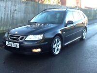 2006 Saab vector tid estate moted service history parking sensors 2 X keys hpi clear BARGAIN!!!!