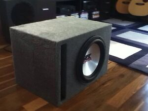 12' MTX sledgehammer ported box 25mm mdf 56L Newcastle Newcastle Area Preview