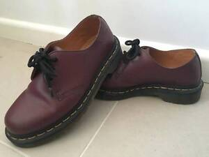 Dr Martens 1461 3 eye shoe in cherry red - EU 36/UK3. Maroubra Eastern Suburbs Preview