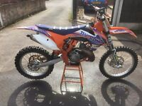 KTM SX 250 2011 , very fast bike, full HGS exhaust, nearly new tyres, recent fork seals