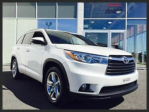 TOYOTA HIGHLANDER LIMITED AWD 2016 ~ 7 PLACES | CUIR | GPS | TOI