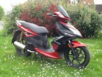 Kymco Super 8 125cc moped scooter