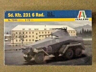 Italeri 7047 German Sdkfz 234//4 1//72 plastique Scale Model Kit
