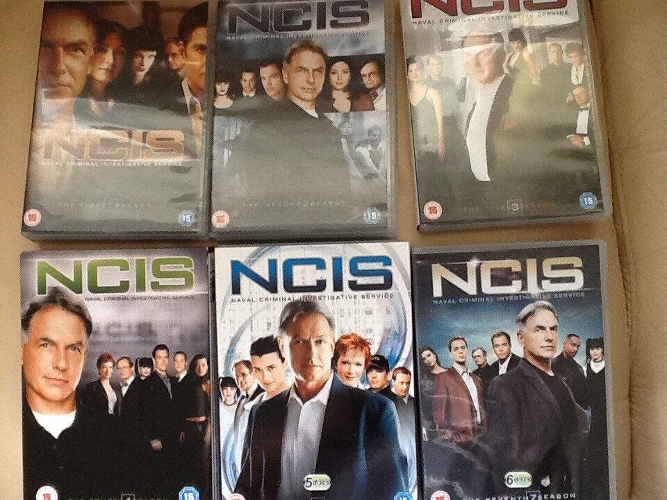 NCIS COMPLETE BOX SETS 1-6