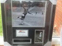 Football memorabilia ferenc puskas