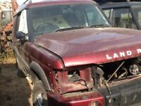 Landrover Discovery 2 Breaking for parts.