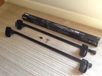 Thule roof bars and foot packs for Mark 7 Golf