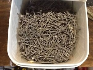 30 lbs of 2 inch nails. No rust