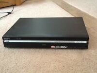 SOny DVD recorder with instructions
