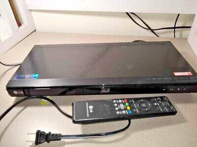 LG Blu-Ray 3-D Player W/ Remote Network 3d BluRay Disc player BD670
