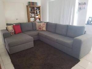 6 seater modular lounge Castle Hill Townsville City Preview