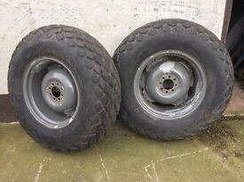 Grass wheels suit mf 35 135 dexta ferguson