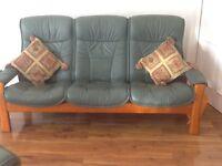 Ekornes Stressless leather suite