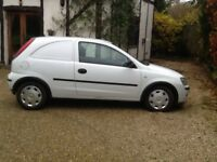Corsavan 1.3cdti 54reg MoT sept18 Reliable economical van. £950 ono