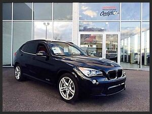BMW X1 35i M-PACKAGE XDRIVE 2013 ~ 300 HP | CUIR | TOIT PANORAMI