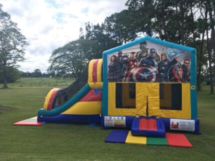 Avengers Combo Jumping Castle $249 Full Day Hire