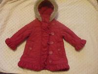 girls coat Marks&Spencer 12-18 months